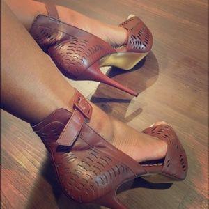 bebe lucia laser cut platform stiletto heels